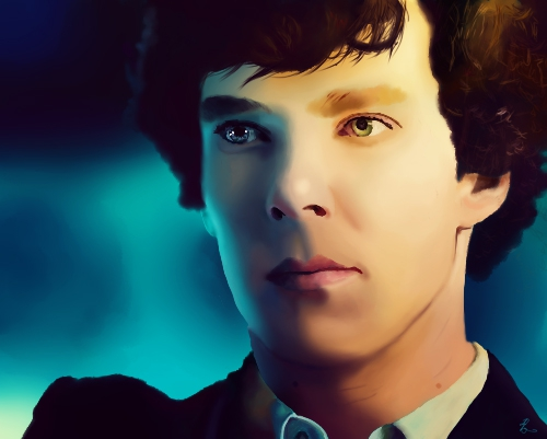 Benedict Cumberbatch by Mlle-Alexe